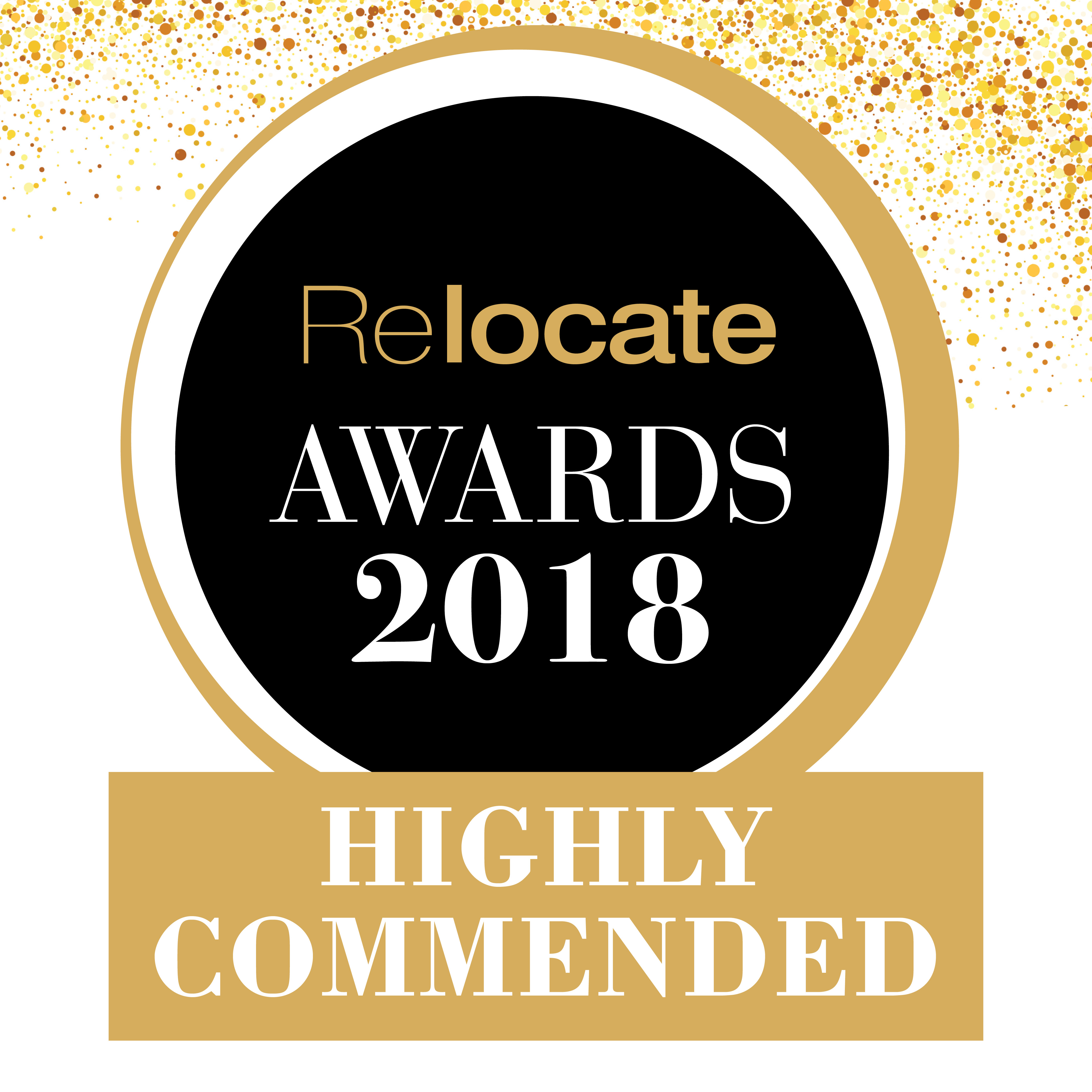 Relocate Awards highly Commended