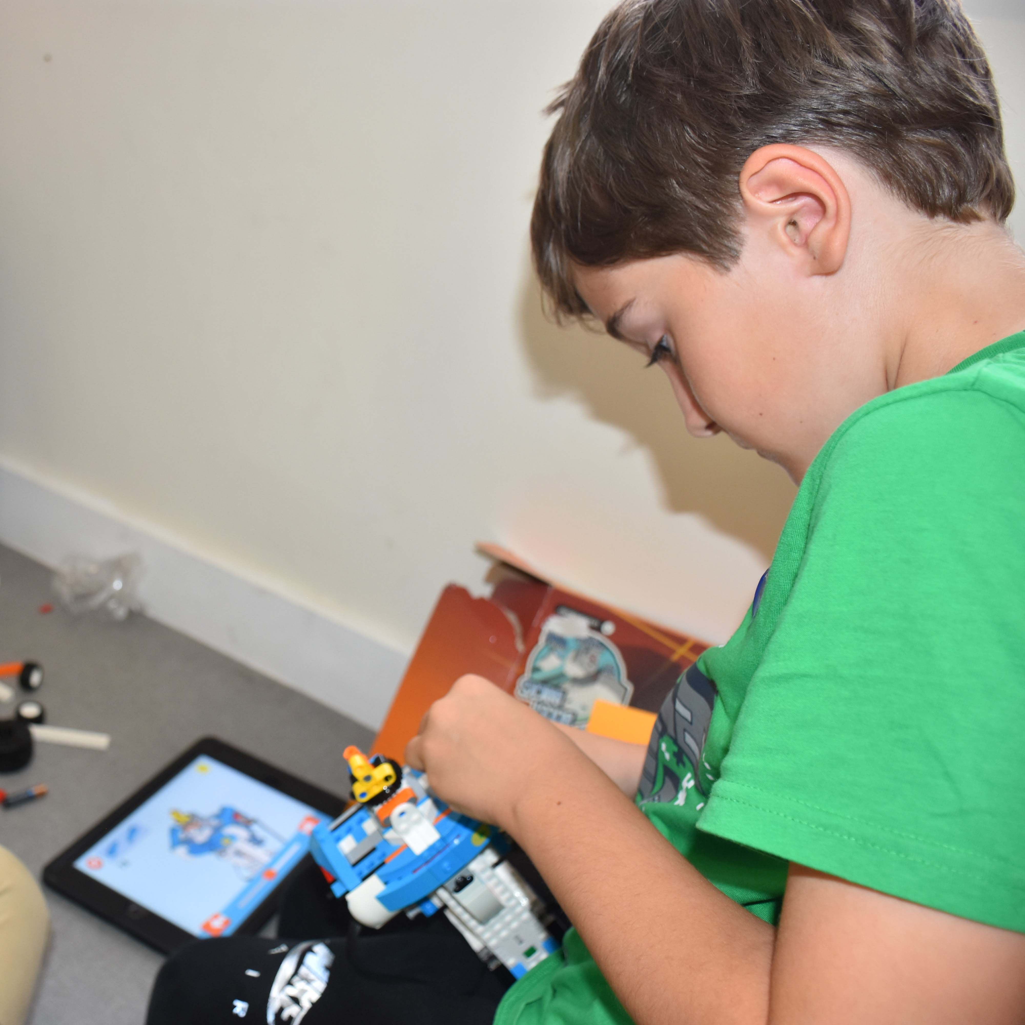 Coding Club Lego Robotics