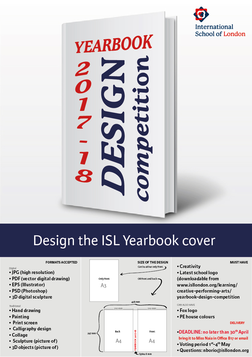 Yearbook Cover Design Competition
