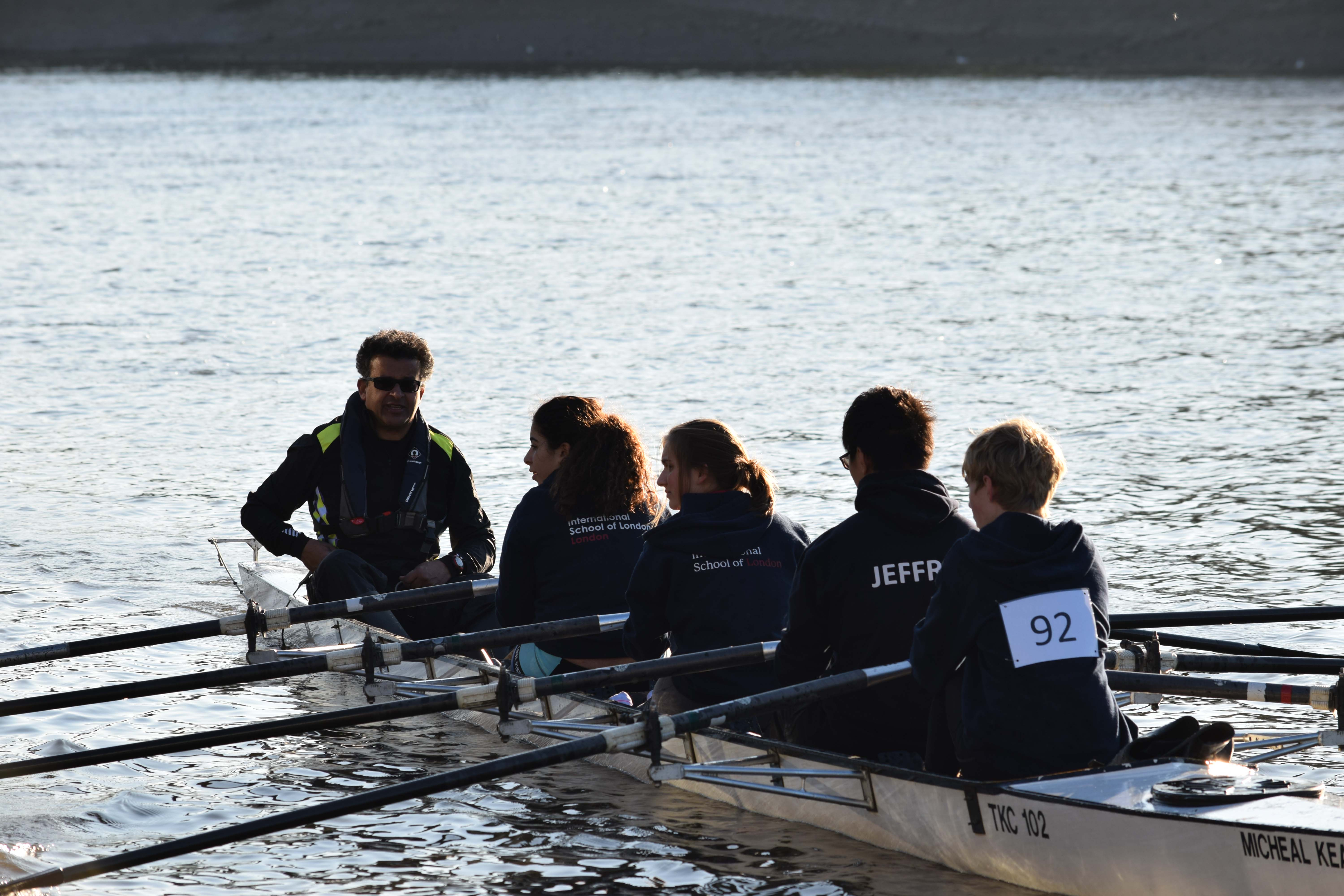ISL Regatta rowing