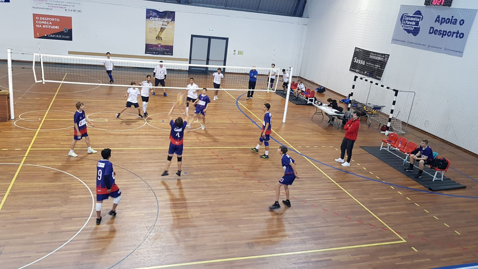 ISSA Boys Volleyball Tournament 2018