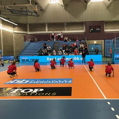 Hip Hop Dancers Perform at the IBB Polonia Volleyball Match